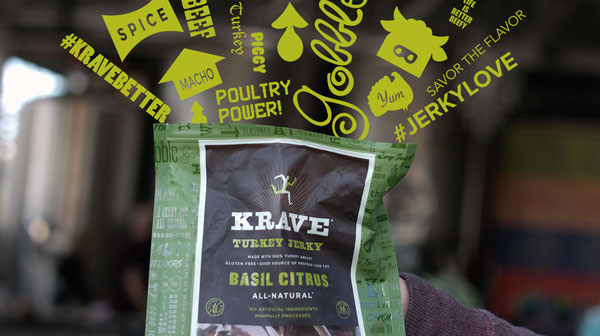KRAVE Jerky – Commercial Video Spot