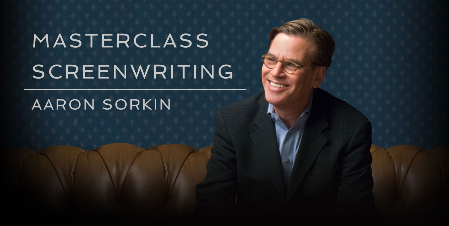 Video Production Master Class on Screenwriting from Aaron Sorkin