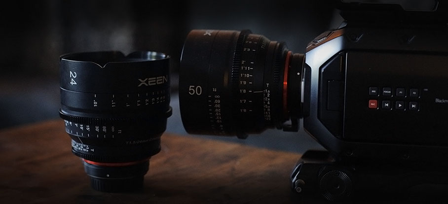 Leeway Films Video Production Lens Kit with Rokinon Lenses